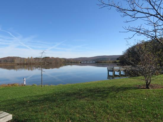 Schellsburg / Shawnee Loop: Lake shot