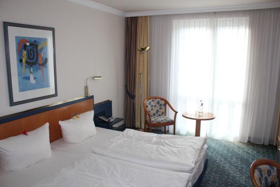 Quality Hotel Lippstadt: Kamer 1ste verdiep