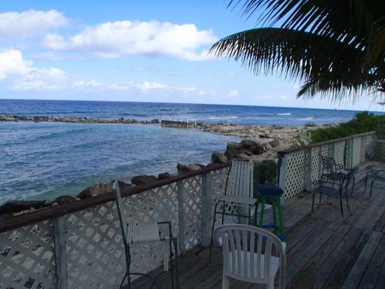 Sam McCoy's Diving And Fishing Lodge: View from the sunset deck