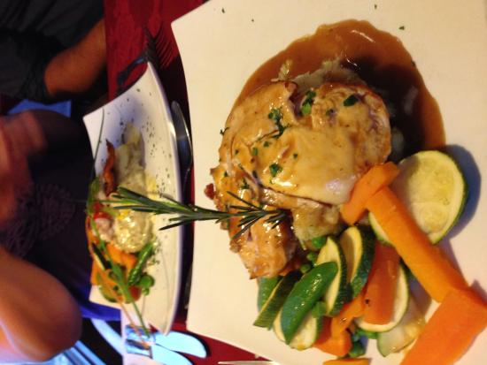 The Old Station Inn : Main course