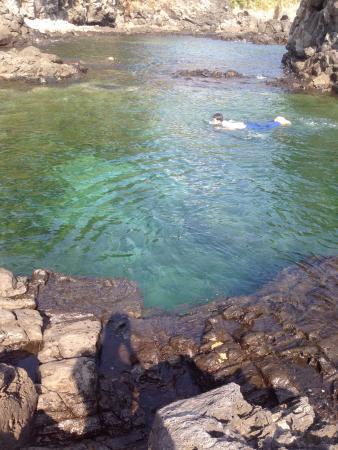 Oedolgae: 2 natural rock pools where you can swim.