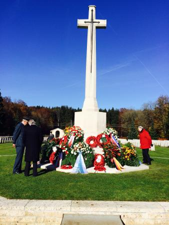 Gmund am Tegernsee, Germany: Remembrance Sunday.