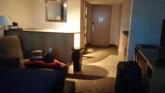La Sammana Resort: picture taken from bed area