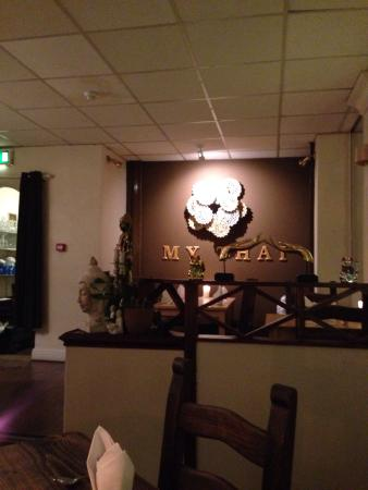 My Thai Restaurant: Lovely atmosphere and very helpful staff.