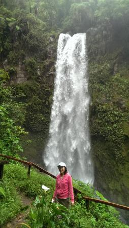 The Lost Waterfalls-Boquete : the first waterfall