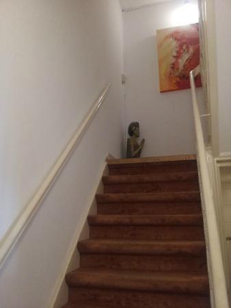 Sycamore : scale per salire al piano superiore