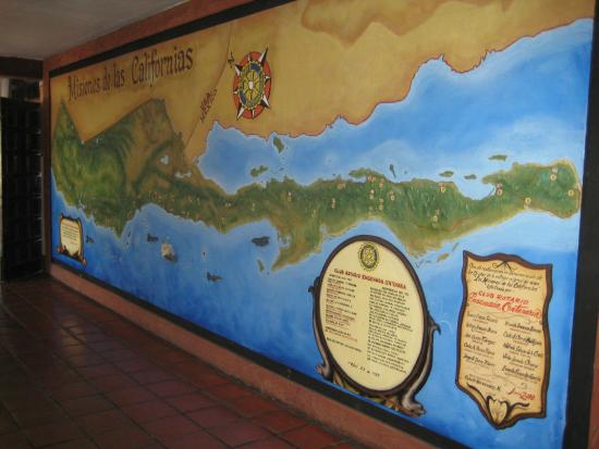 Rivera del Pacifico: A Gigantic Wall Map of All the Spanish Missions