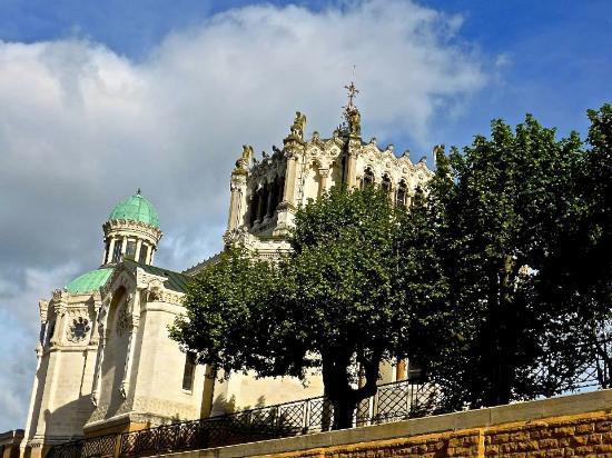 basilic picture of shrine of st john vianney ars sur formans
