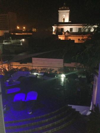 Casa de Leda - a Kali Hotel : Vista nocturna desde el tercer piso