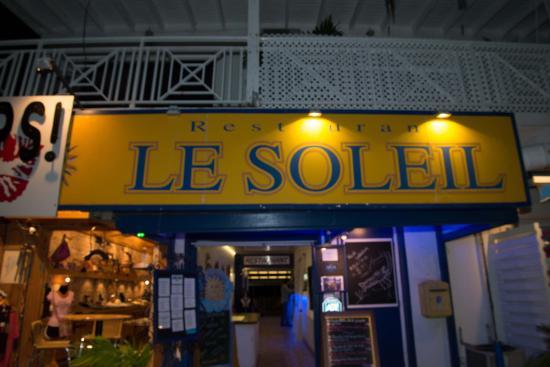 Restaurant le Soleil : Entrance