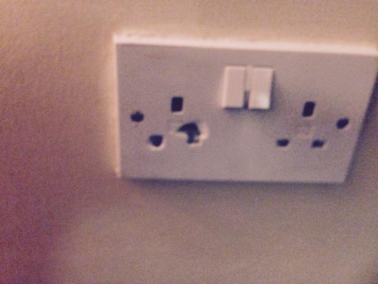 Tree at Cadmore End: The only socket in the room