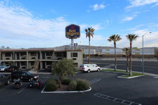 Best Western Colorado River Inn: Aussicht aus Hotelzimmer
