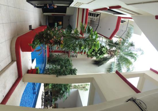 Hotel Maya Turquesa : Внутренний дворик.