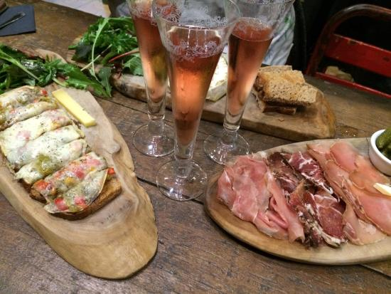 Champagne+Fromage - Covent Garden : Great for sharing