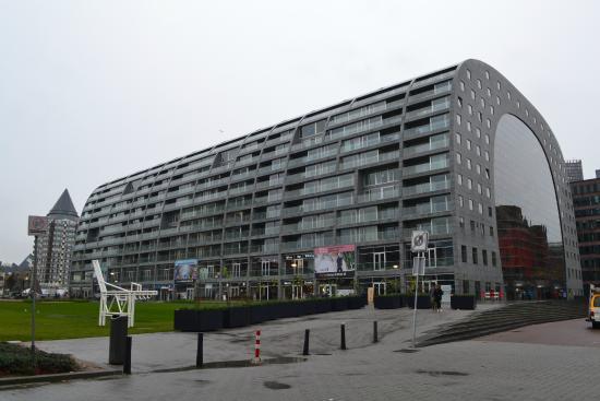 les terrasses suspendues photo de markthal rotterdam rotterdam tripadvisor. Black Bedroom Furniture Sets. Home Design Ideas