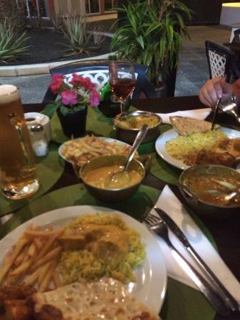Restaurant Taj Mahal : beautiful fresh food