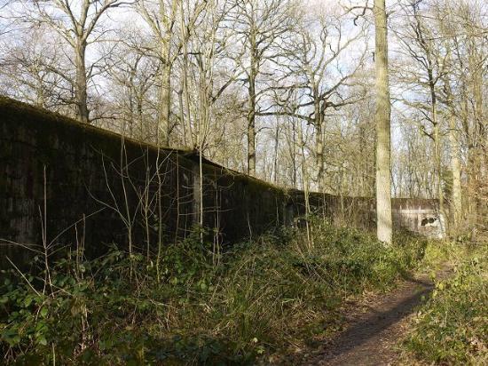 Bois des Huit Rues V 1 Rocket Site : One of three ski storage buildings