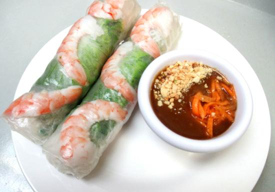 Shrimp spring rolls- goi cuon - Picture of Pho Asian Star, Corinth ...