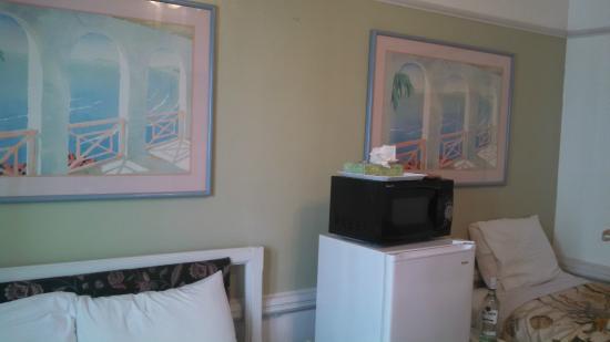 Hermosa Hotel: room decor