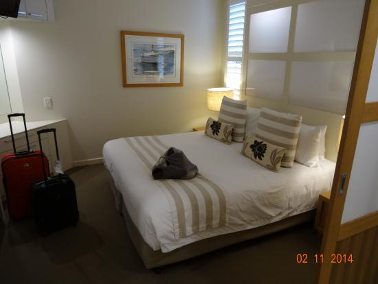 Netanya Noosa: King sized bed - great