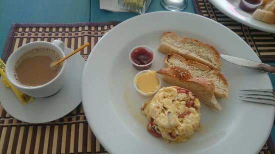 Pedasito Hotel: Desayuno en Pedasito