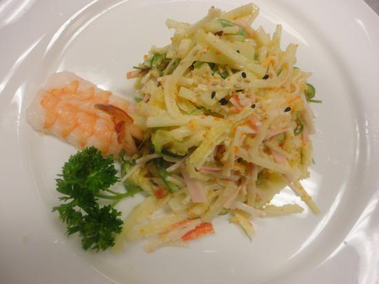 Azan Wok: Spicy Crab Salad