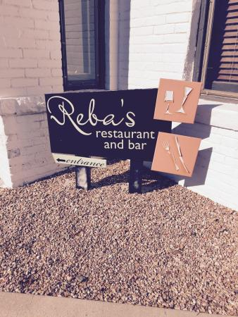 Reba's Restaurant : Arrived