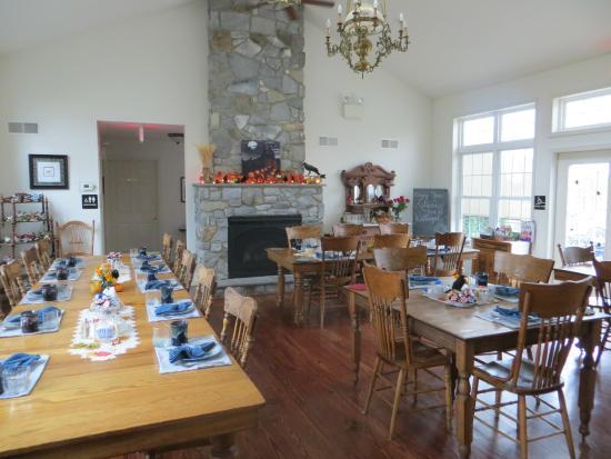 The Inn at Westwynd Farm: Wonderful Breakfast Room