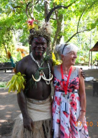 Mele, Vanuatu: My new friend!