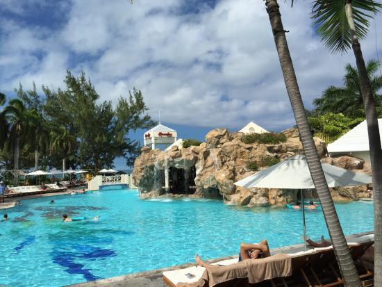 Pool at Caribbean Village - Picture of Beaches Turks
