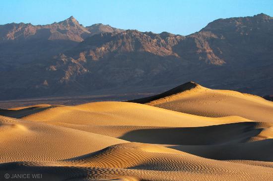 Sunrise - Mesquite Flat Sand Dunes