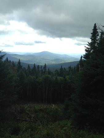 White Mountains, Nueva Hampshire: View from the Gorge Brook trail
