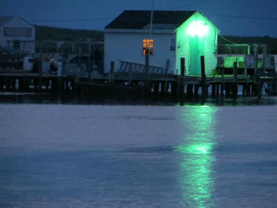 Tangier Island: Boat Dock at 5 am