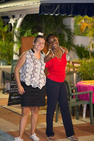 Simpson Bay, St Marteen/St. Martin: restaurant staff very efficient and engaging