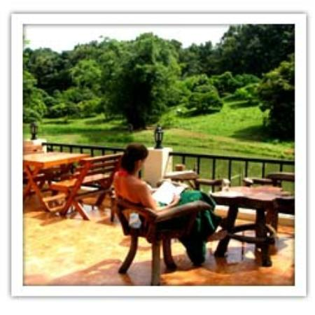 Chang Garden Resort - Family Holiday Park: view from the restaurant terrace