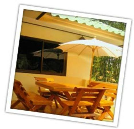 Chang Garden Resort - Family Holiday Park: Your private terrace