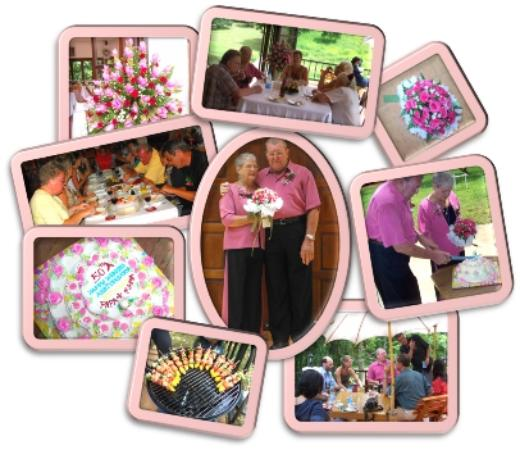 Chang Garden Resort - Family Holiday Park: Wedding party (50th anniversary)