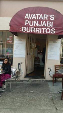 Avatar's Punjab Burritos