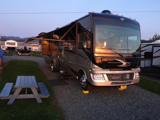 Harborview Inn & RV Park : nice level RV sites