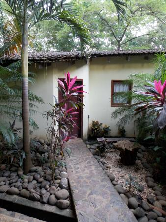 Tamarindo Backpackers : path to room