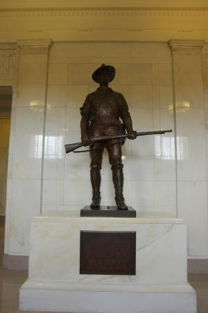 Alabama Department of Archives and History: The monument inside