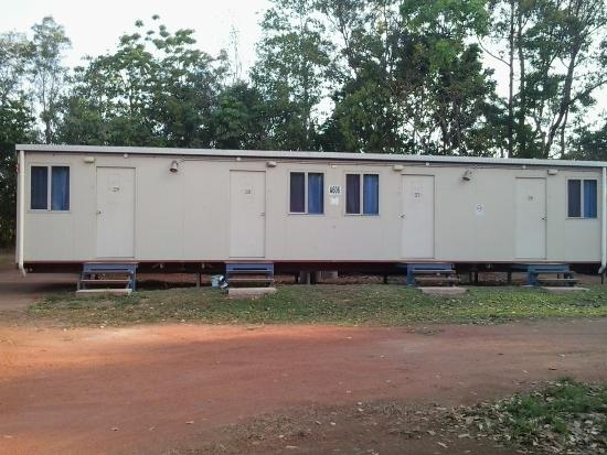 Weipa Caravan Park & Camping Ground: No frills for Budget rooms like workers rooms