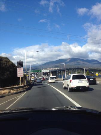 Tasman Bridge: Gorgeous day