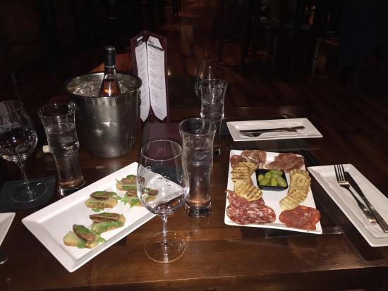 STAX Wine Bar & Bistro: Perfect!