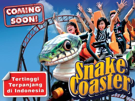 Sentul, Indonesia: Snake Coaster