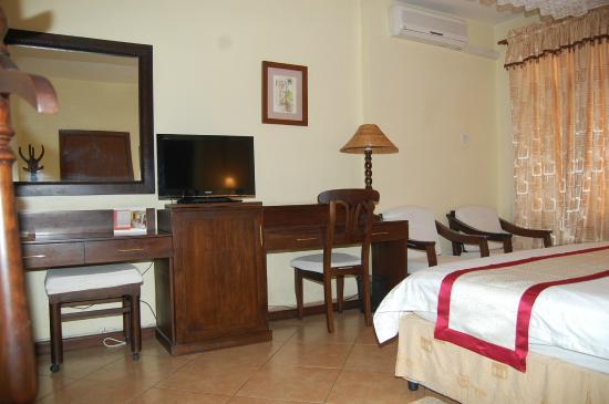 New Safari Hotel: Room Vie