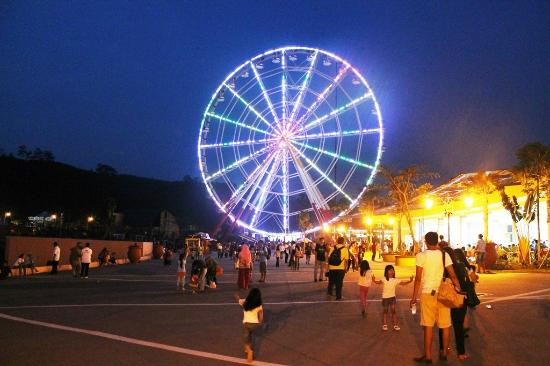 Sentul, Indonesia: Giant Ferris Wheel