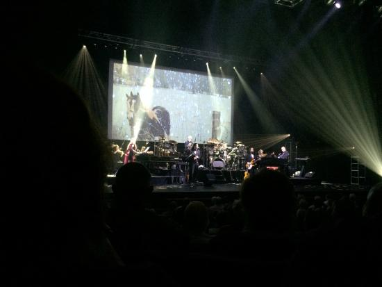 Van Wezel Performing Arts Hall: Mannheim Steamroller from Sec A left side Row 8.