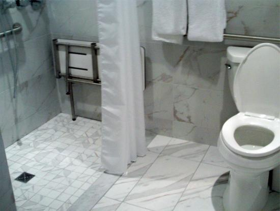 The handicapped accessible bathroom picture of the linq - Bathroom remodeling las vegas nv ...