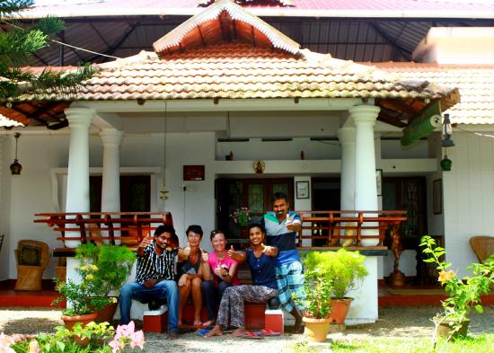 Sreevalsam Inn: With the guest